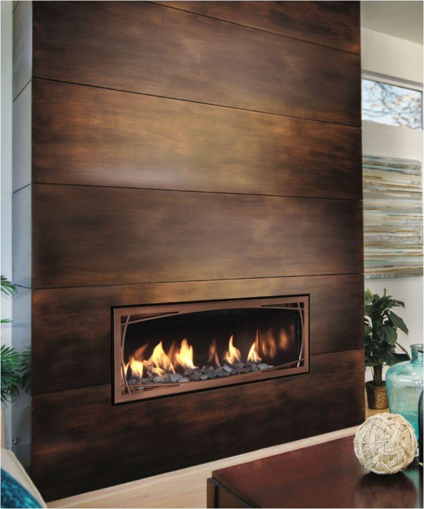mendota gas fireplace linear direct vent ml39 modern decor mendota