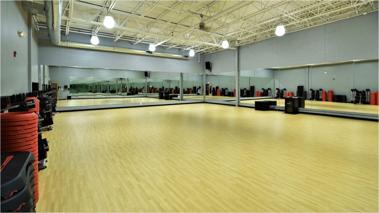gerflor recreation 60 installation at evolve fitness in audubon nj vinylflooring sportsflooring