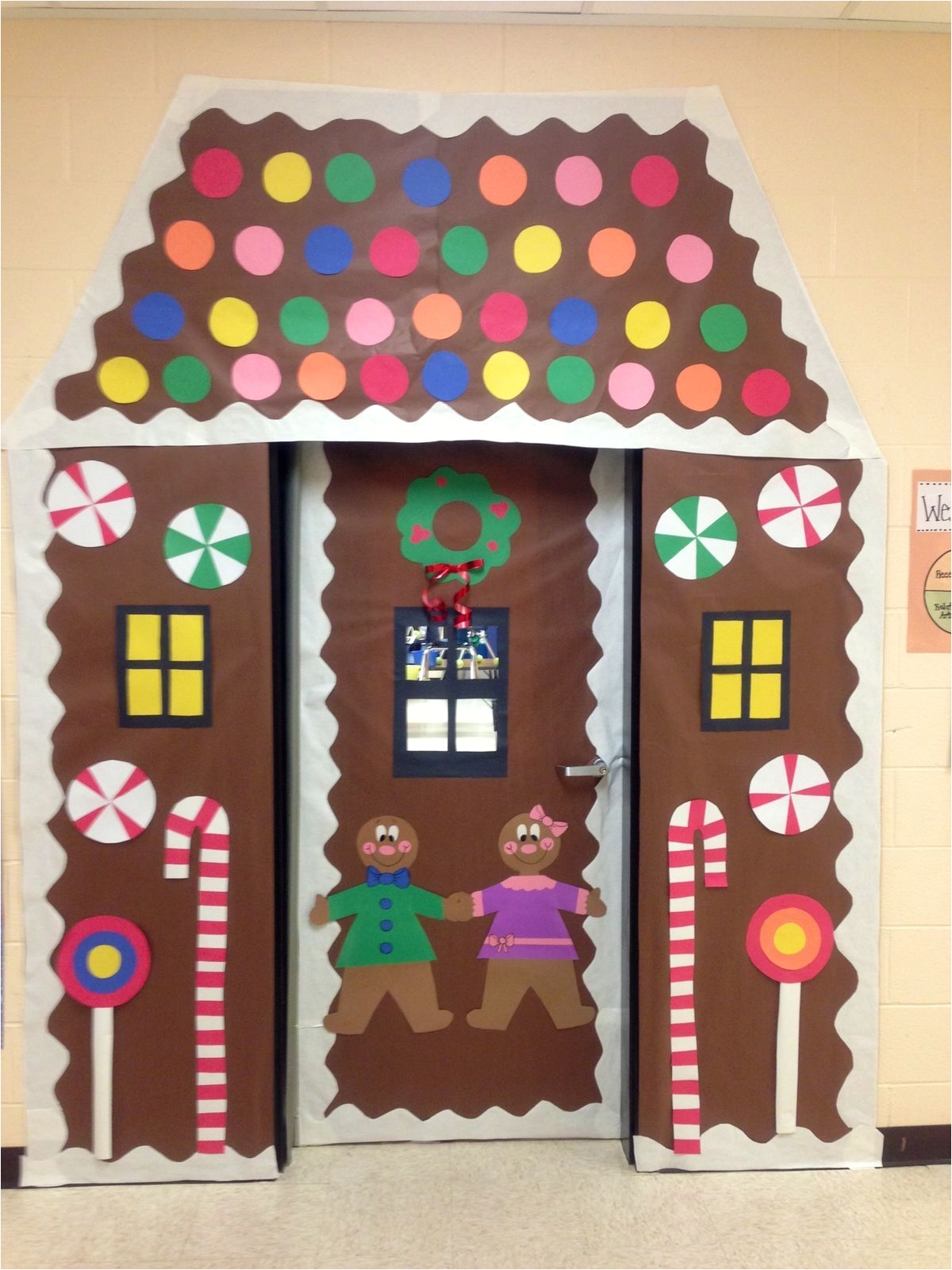 Gingerbread Theme Outdoor Decorations Pin By Ivonee Carrion