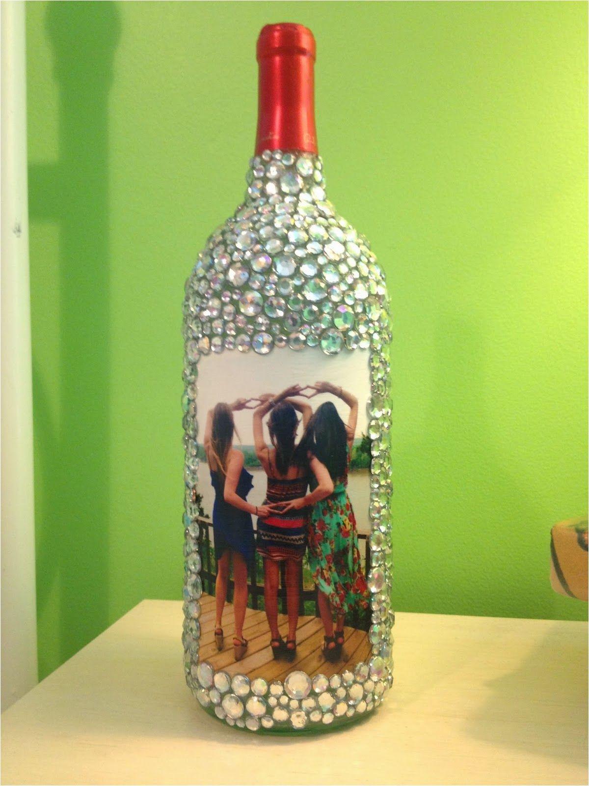 Craft Ideas Glass Bottles