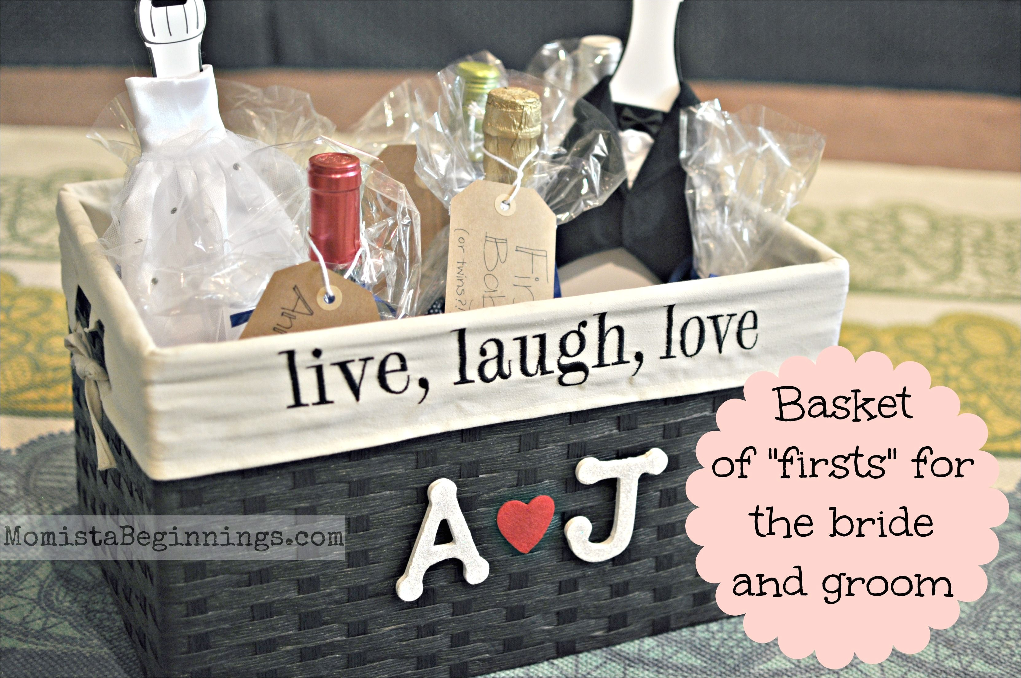 basket of firsts bridal shower gift this idea includes thongs all poems are included and the details on how to make this fabulous gift