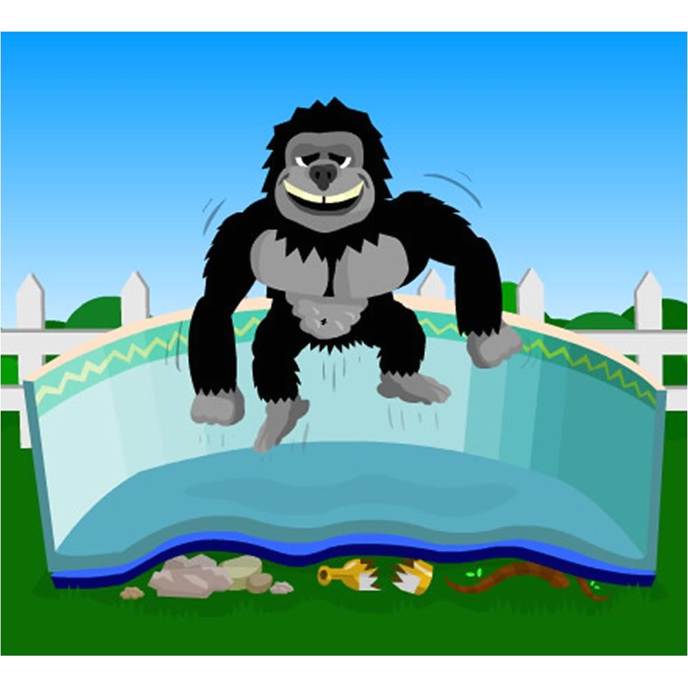 Gorilla Floor Padding for 18ft Round Liner Pad for Above Ground Pools Blue Wave Products