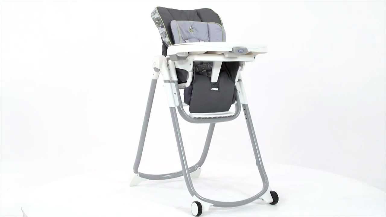 Graco Slim Spaces High Chair Caris Graco Slim Spaces Highchair Youtube