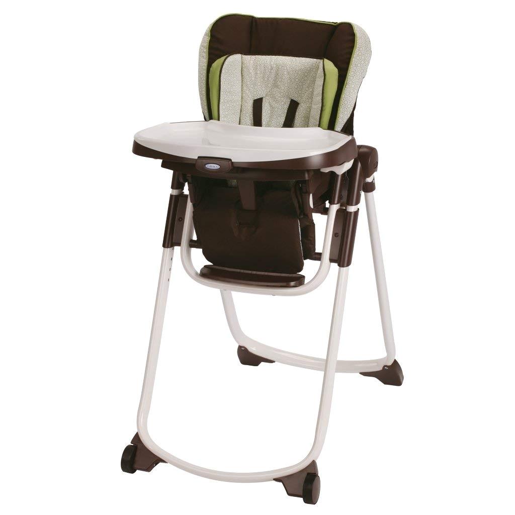 Graco Slim Spaces High Chair Janey Amazon Com Graco Slim Spaces Highchair Go Green Baby