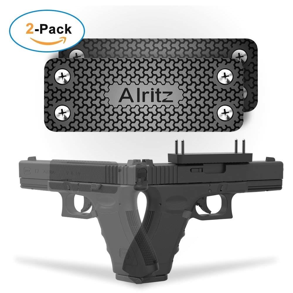 magnet gun mount for car 42 lbs rubber coated magnetic gun holster concealed holder