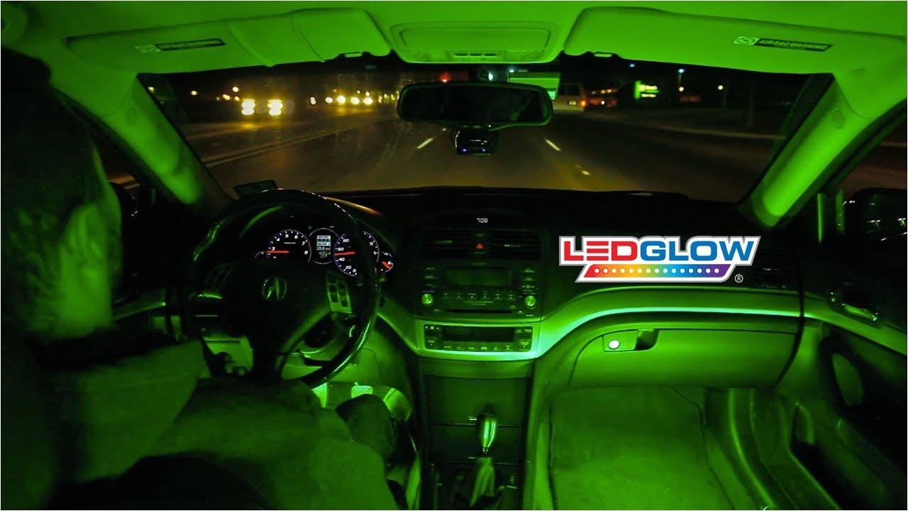 Green Interior Led Lights for Cars Custom Car Interior Lighting Democraciaejustica