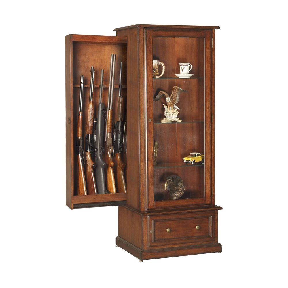 Gun Cabinets for Sale Ebay Fresh 40 Curio Cabinet Gun Safe Curio Gun Cabinet Combination Rack Door