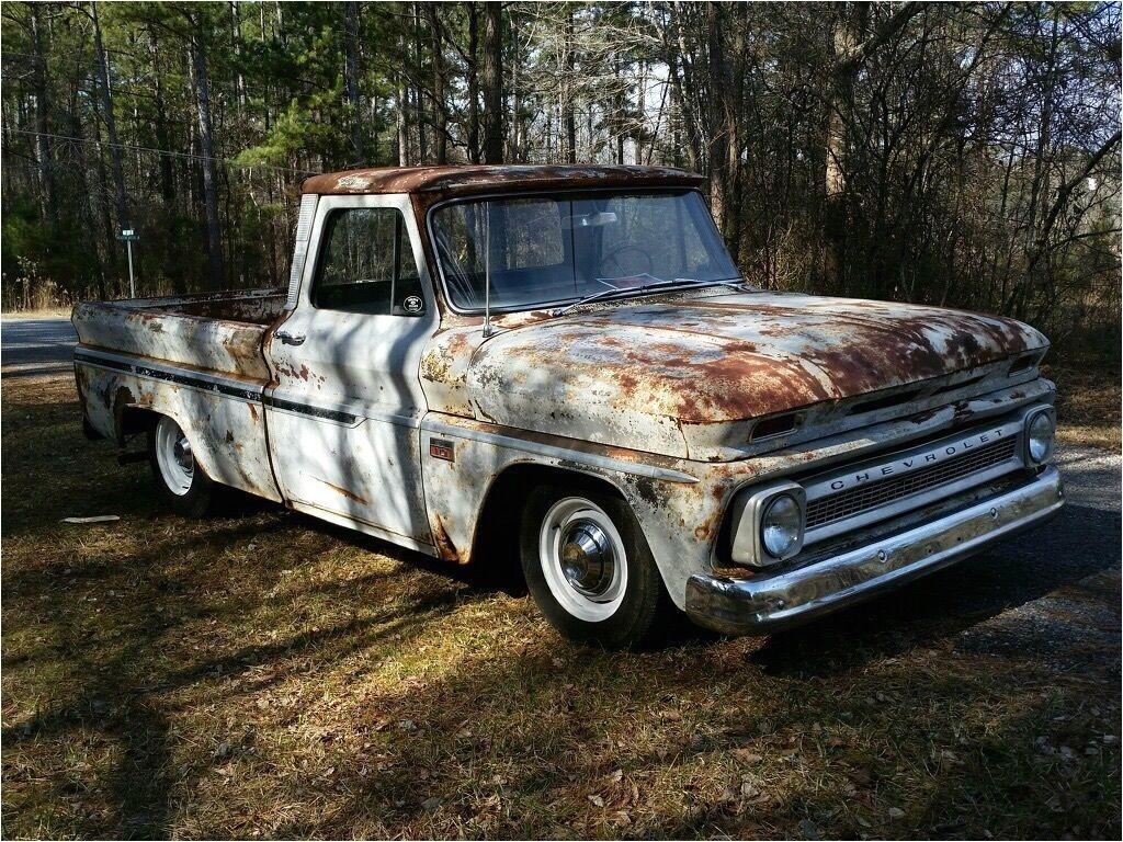 1966 chevrolet c10 shop truck rat rod killer patina short bed big back window