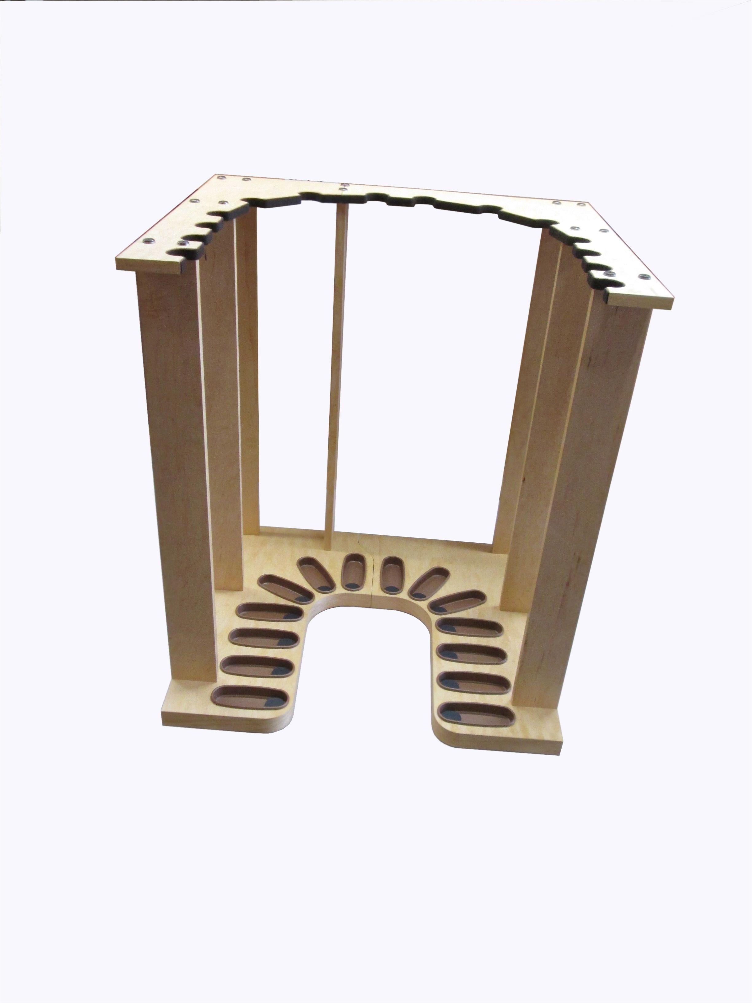 Gun Rack Woodworking Plans U Shaped Vertical Gun Rack for A Safe or Closet Www Gun Racks Com