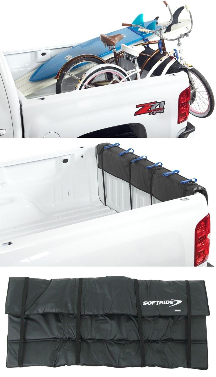softride shuttle pad tailgate bike carrier for full size pickup trucks 61 long