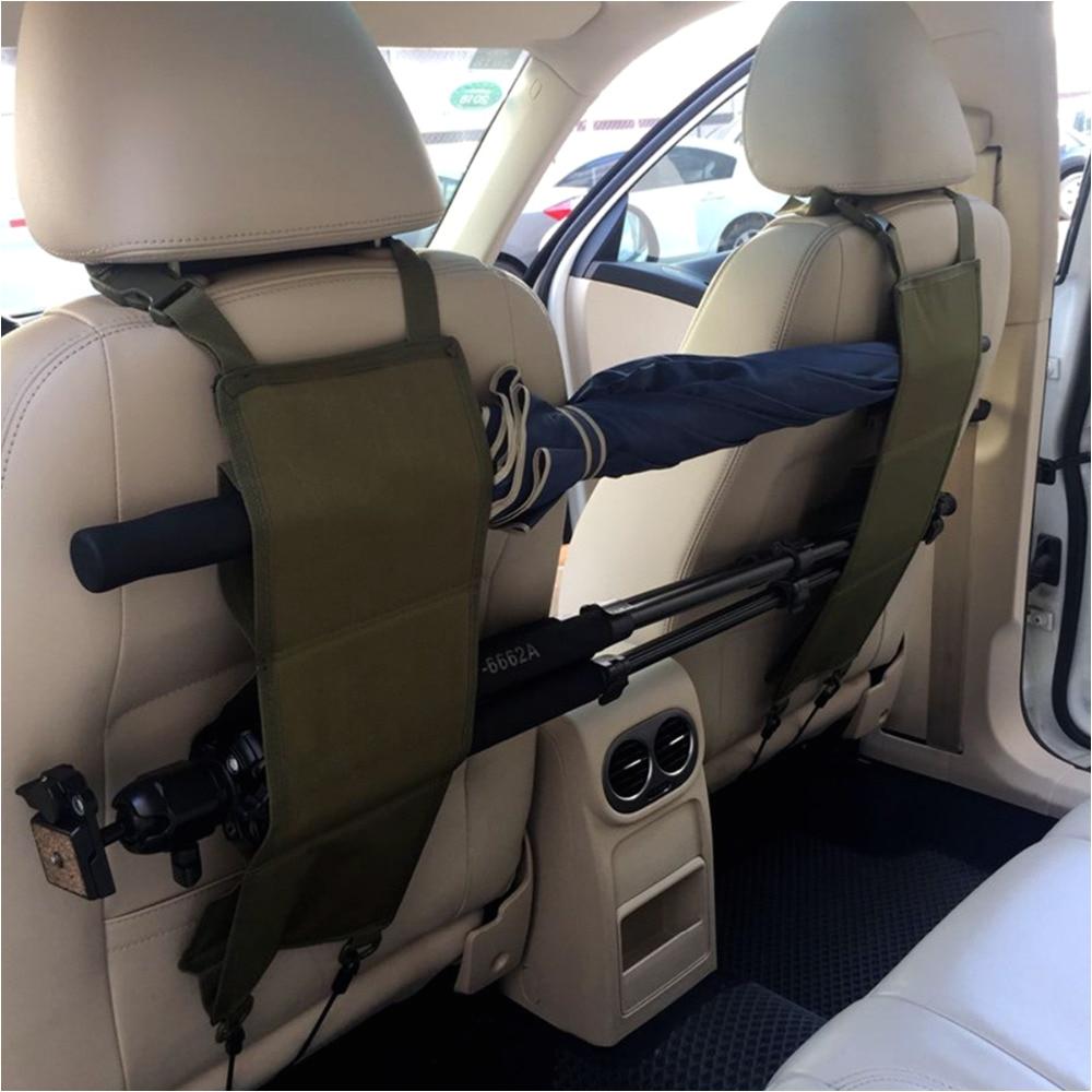 suv trucks car back seat black rifle gun rack case organizer gun storage hunting sling bags in climbing bags from sports entertainment on aliexpress com