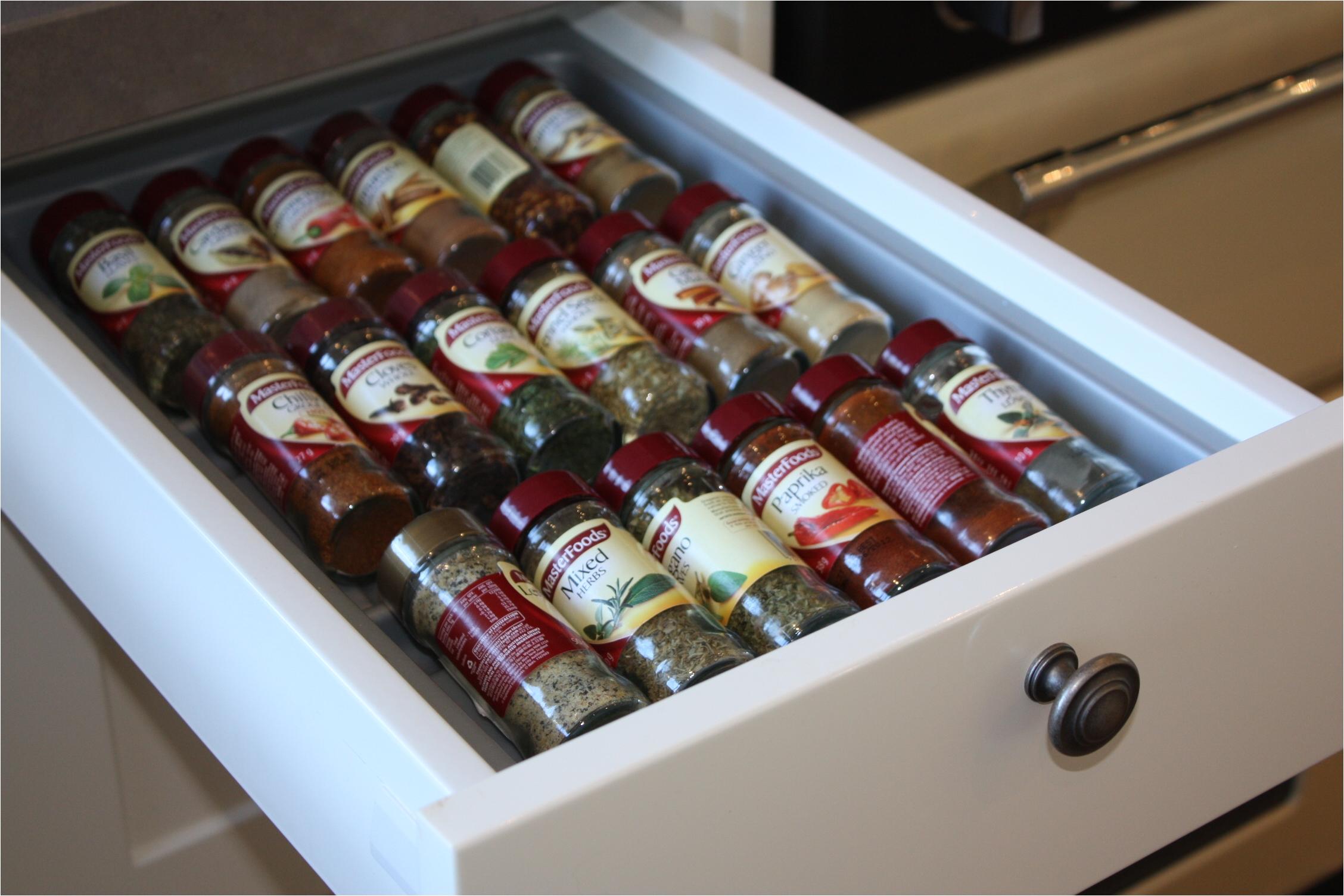 hafele spice drawer insert