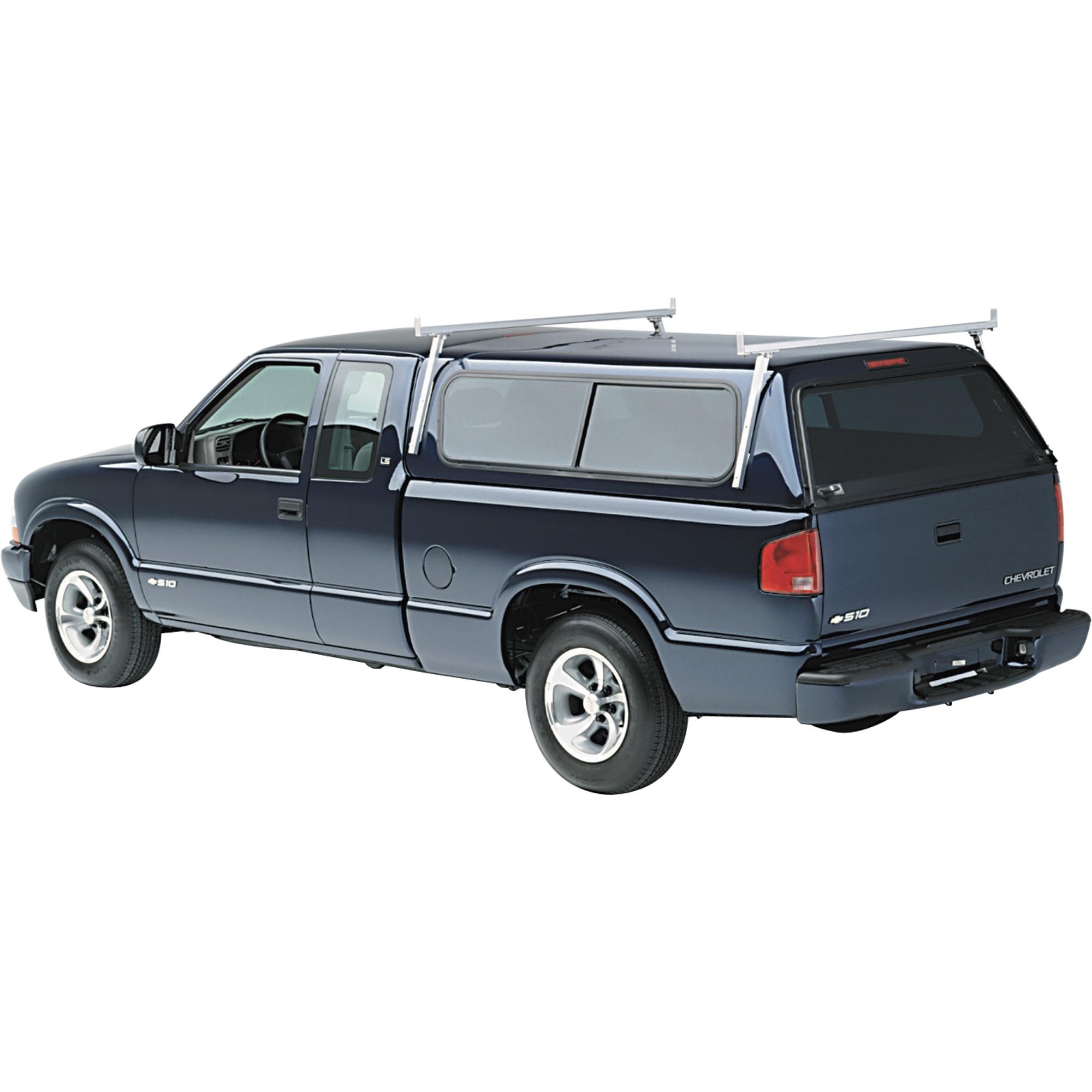 advantage exclusive hauler racks universal aluminum camper shell rack for full size pickup trucks with caps