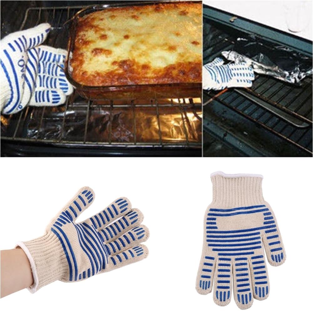 Heat Resistant Oven Rack Guards Heat Proof Resistant Cooking Kitchen Oven Mitt Glove for 540f Hot