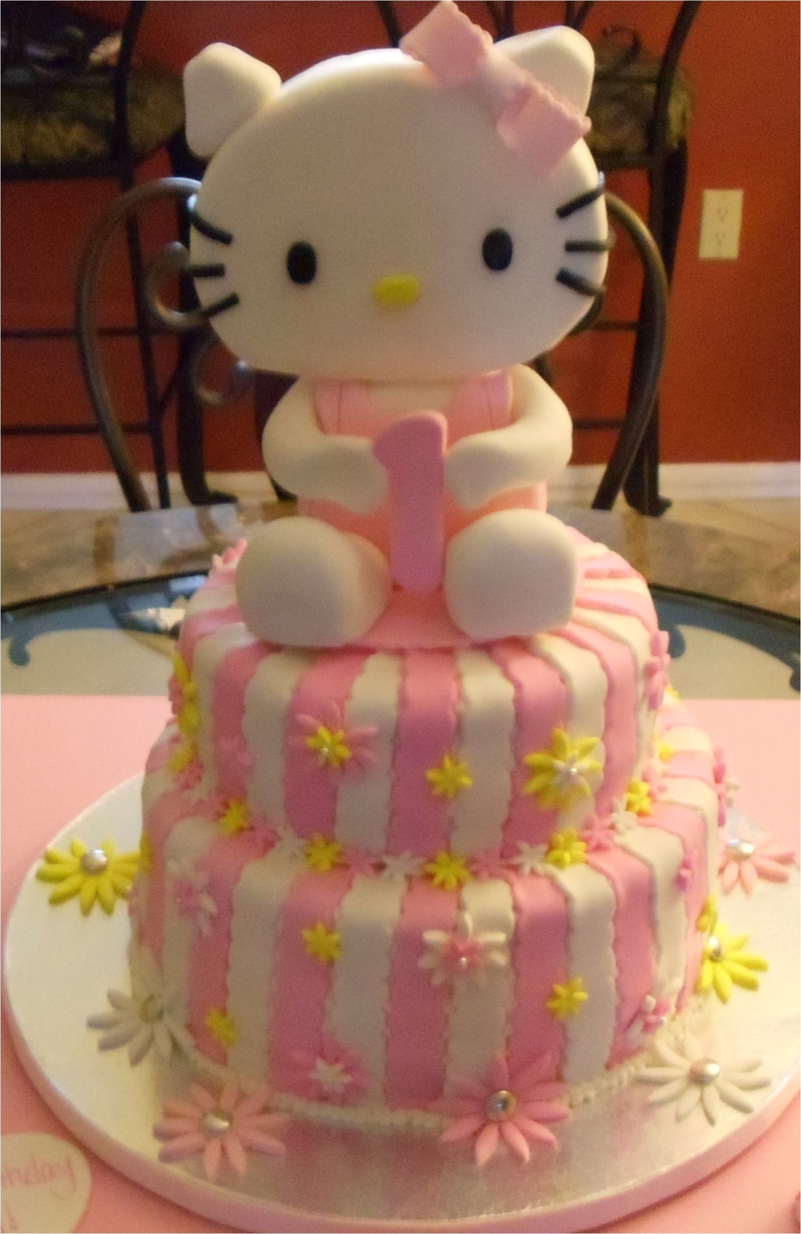 Hello Kitty Cake Decorations Target Hello Kitty Birthday Cake Kids