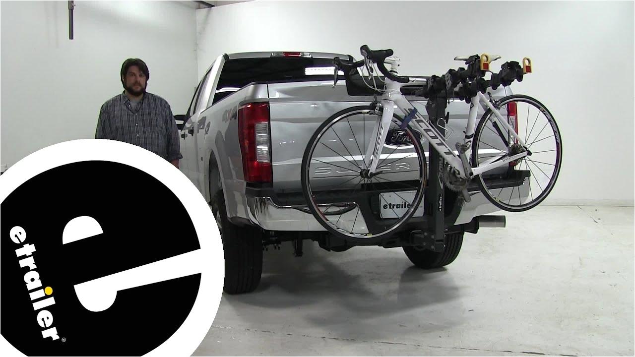 softride element parallelogram hitch bike racks review 2017 ford f 250 super duty etrailer com