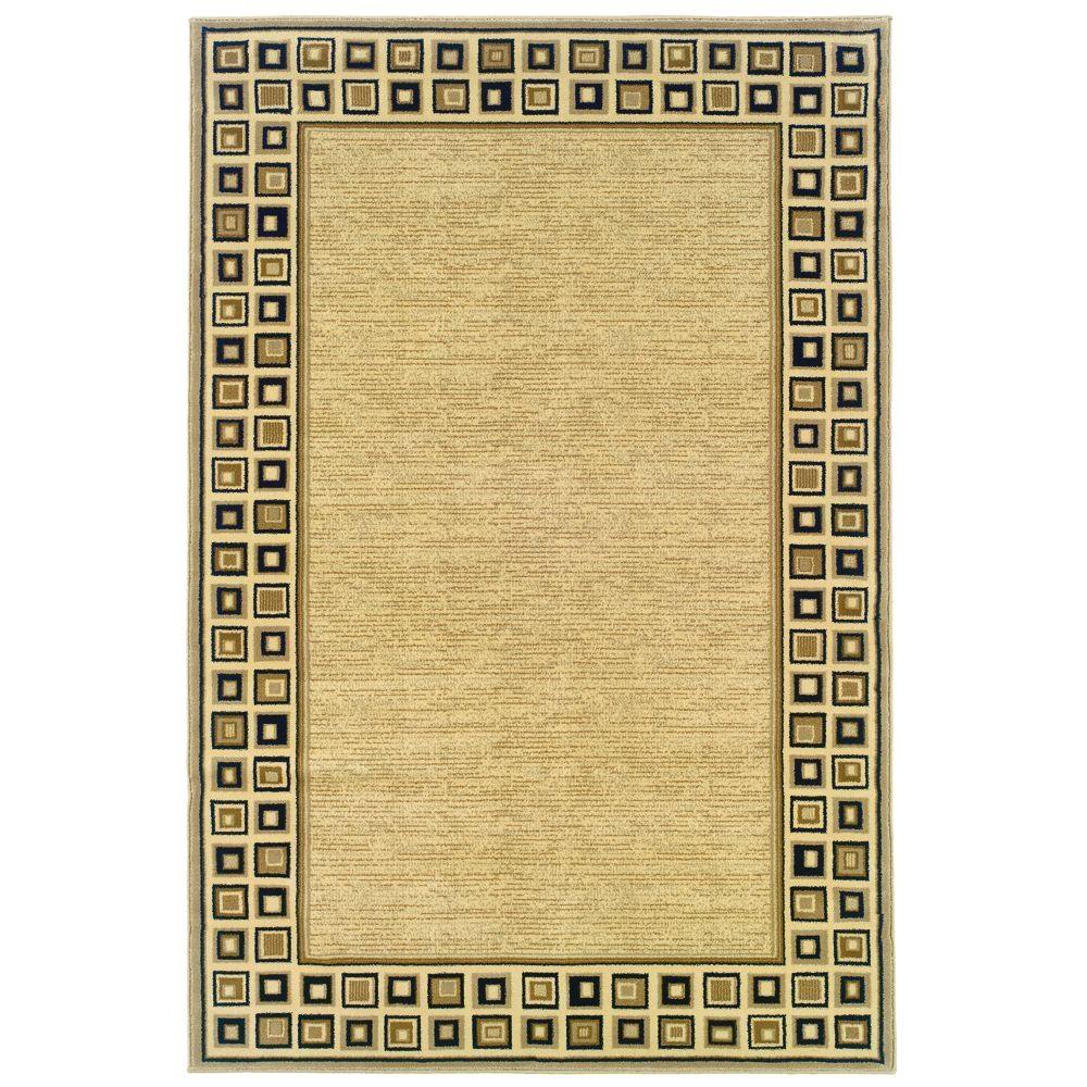 natco stratford geo block black 5 ft x 8 ft area rug
