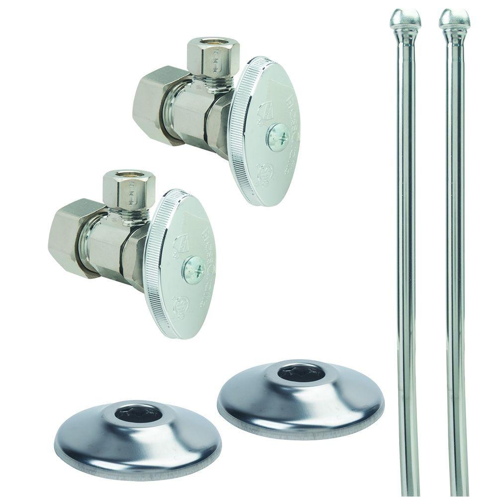 brasscraft faucet kit 1 2 in nom comp x 3 8 in
