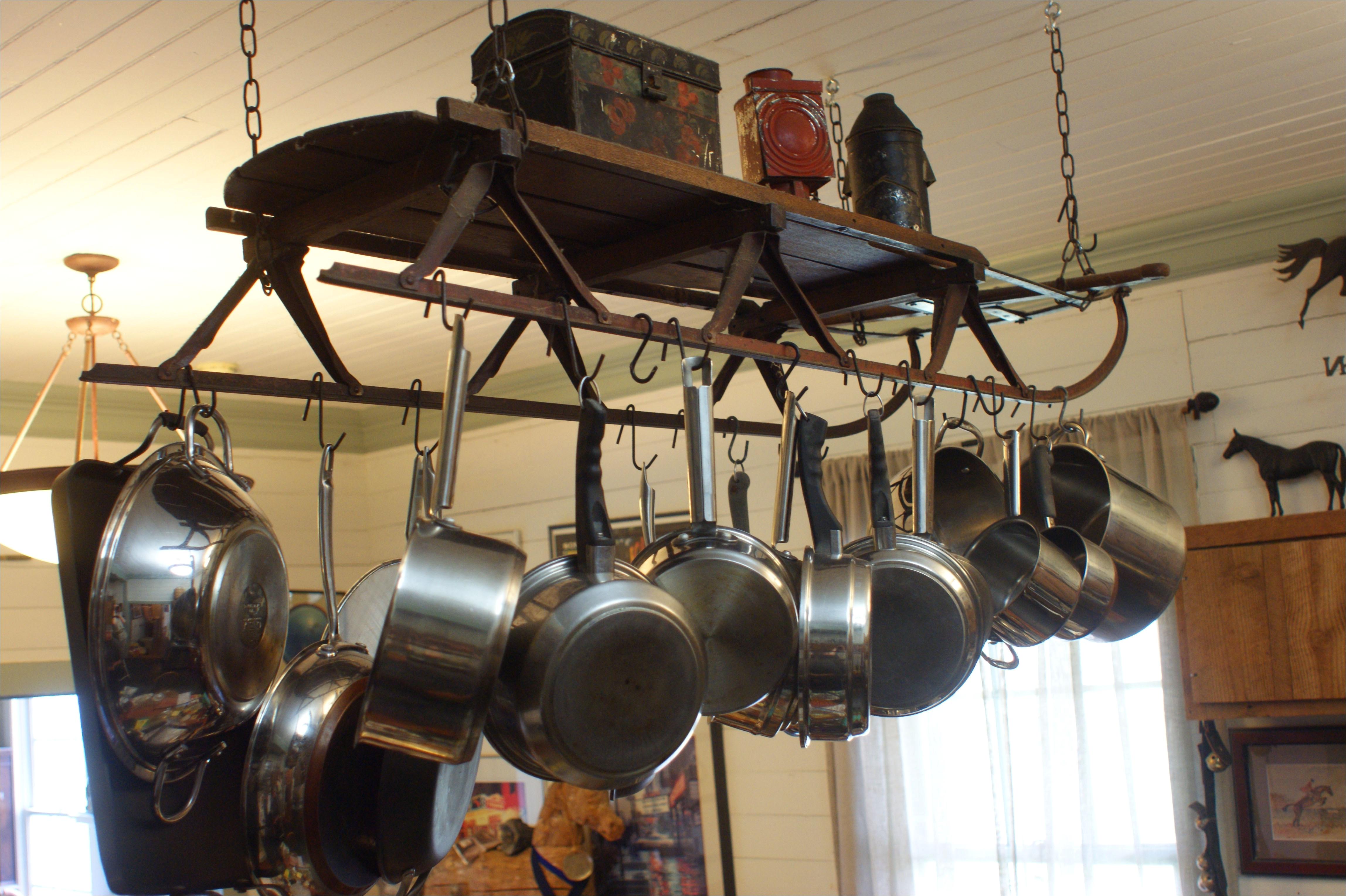 piquant volume lighting bronze pot rack homedepot