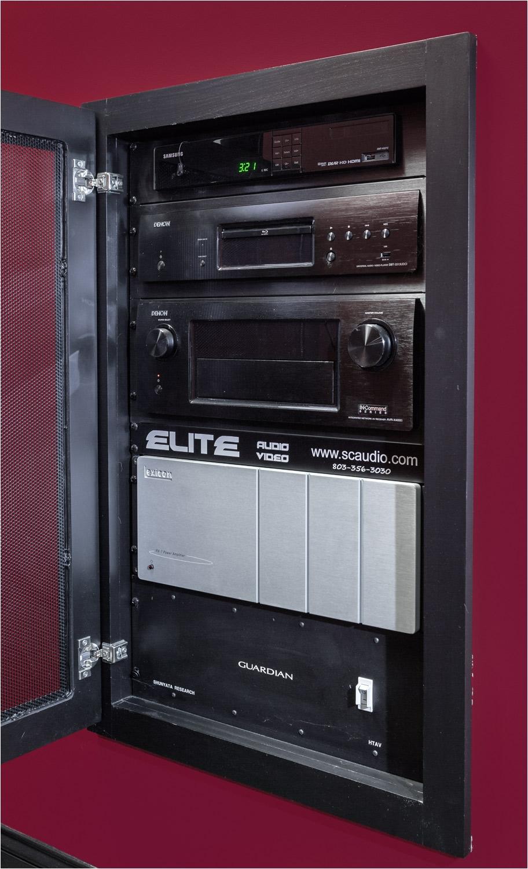 Home theater Component Rack Elite Audio