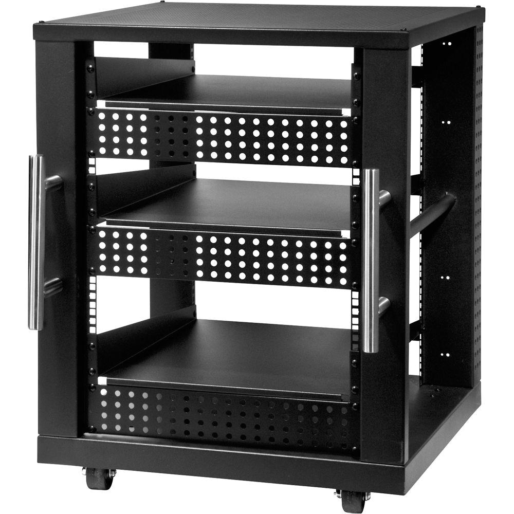 peerless av 15u component rack system avm bh photo video sanus afa four shelf audio peerless industries avm 15u a v component rack 7