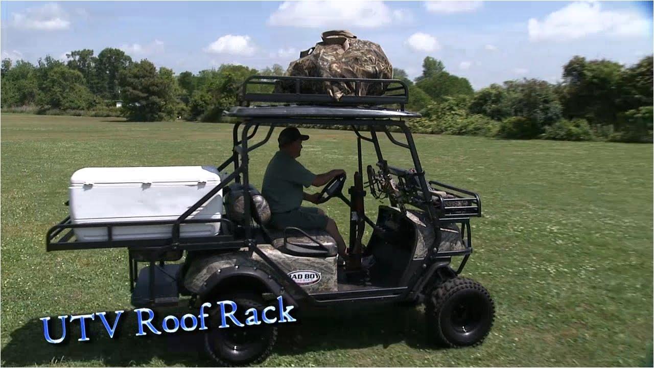 Homemade Utv Roof Rack Great Day Utv Roof Rack Tuckerrocky Youtube