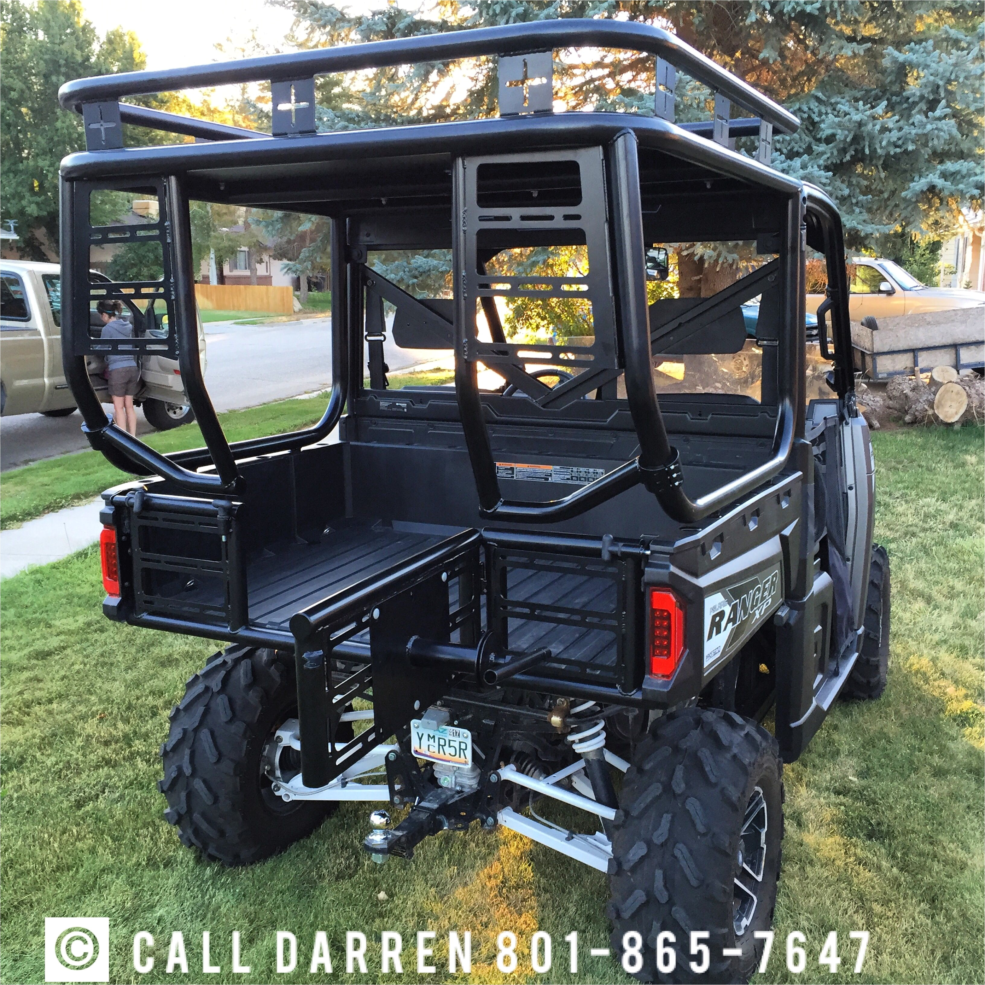 polaris polarisranger polarisrangerxp polarisranger900xp rollcage safarirack hunting fishing