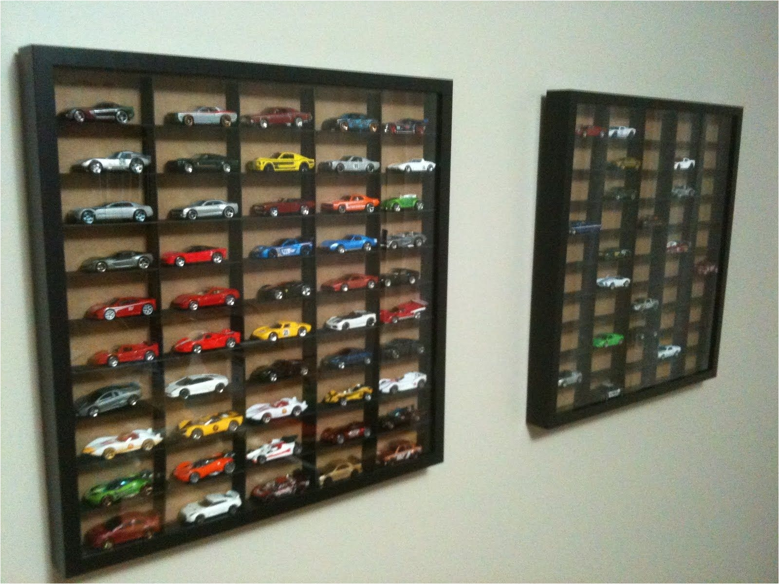 hot wheels display case ikea hackers ribba hot wheels display case