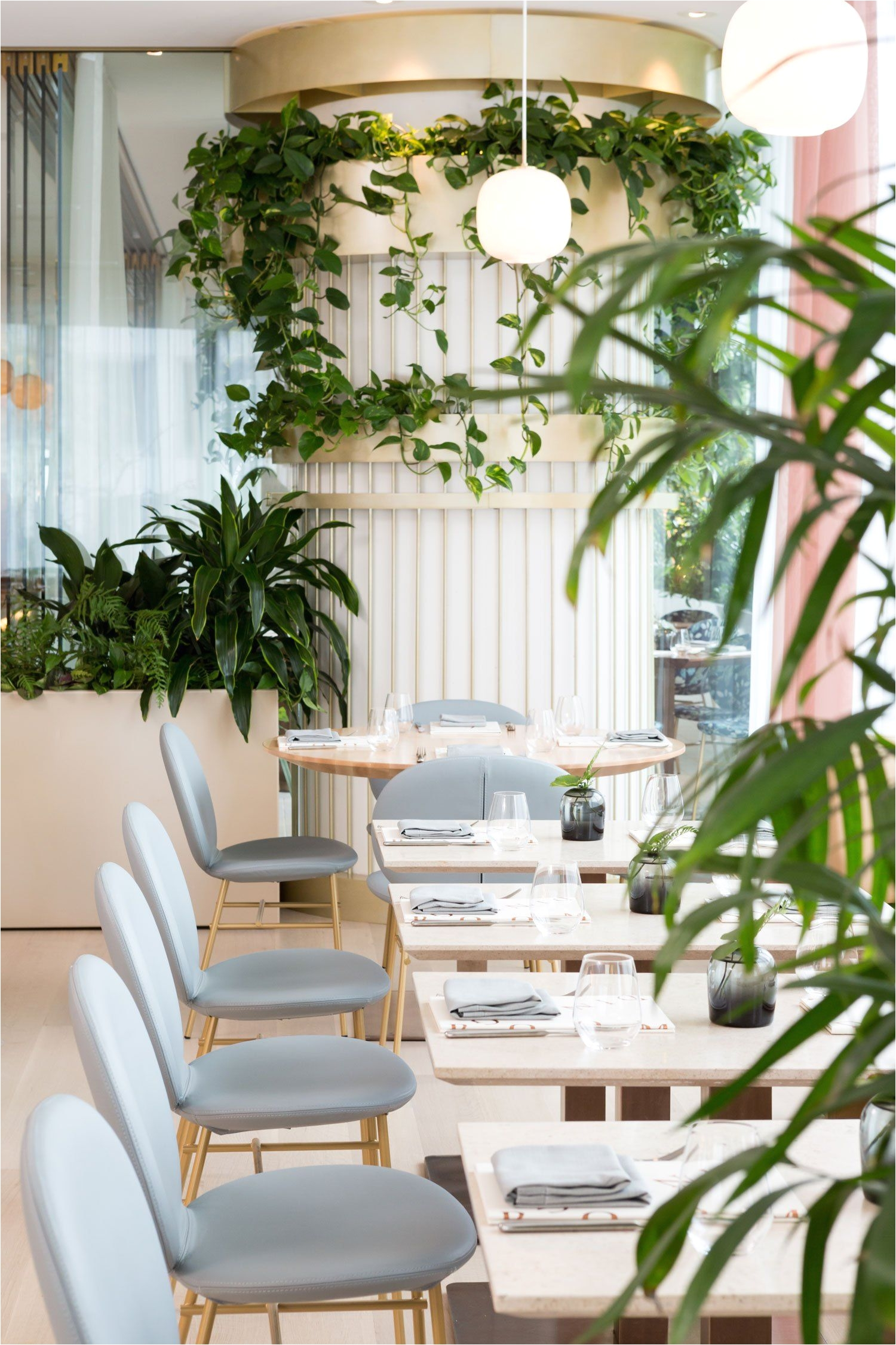 the botanist restaurant in vancouver canada by ste marie