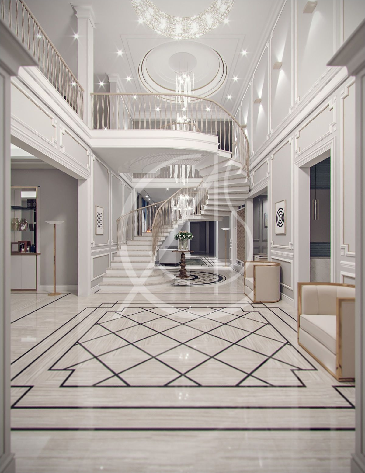 How to Become An Interior Decorator In Ontario Contemporary Classic Villa Design Jeddah Saudi Arabia Pinterest