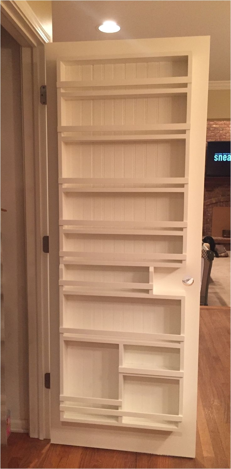diy pantry door spice rack the best of interior decor in 2017