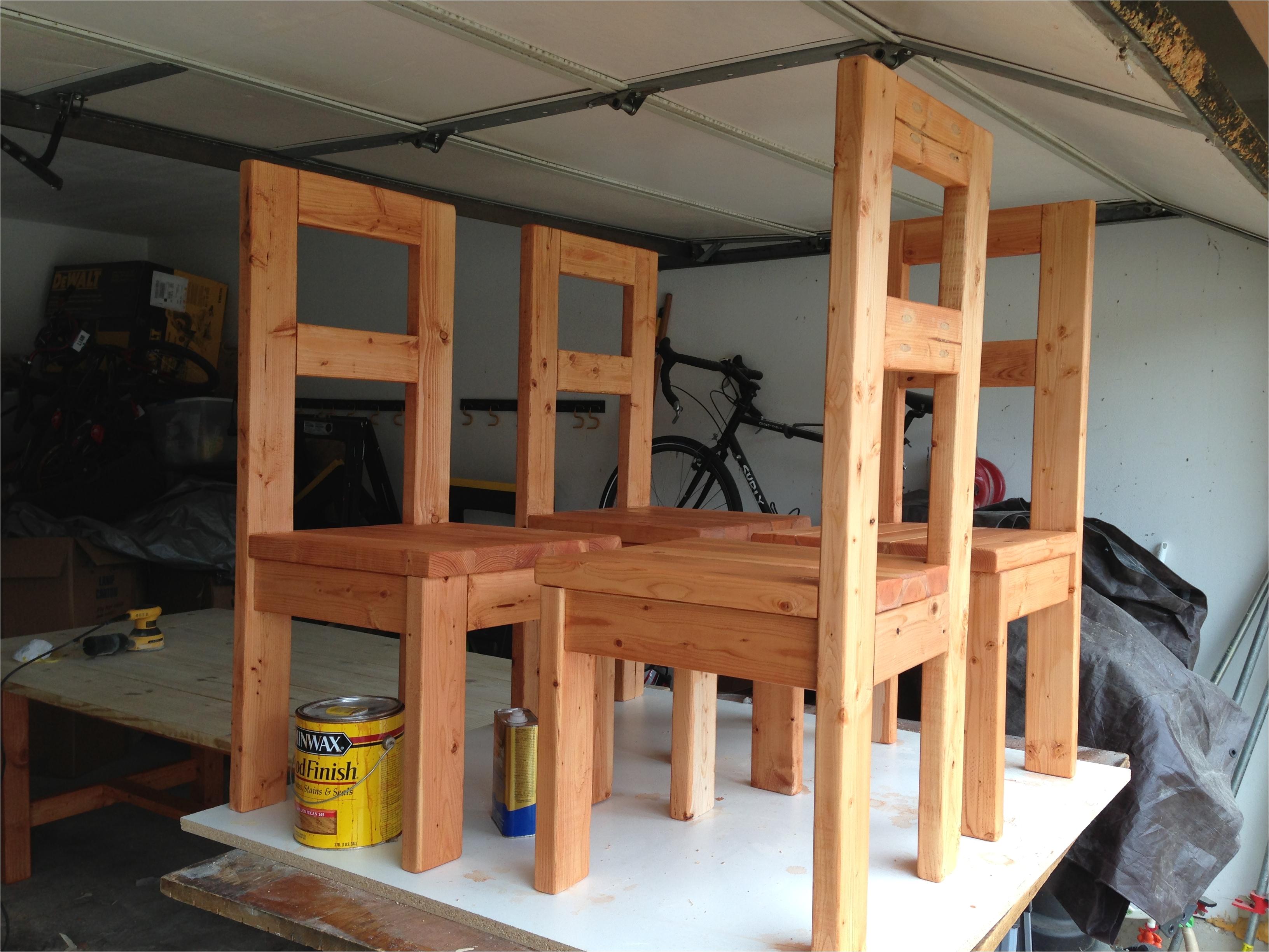 How to Build A Wooden Chair Blueprints Ana White Modern Farmhouse