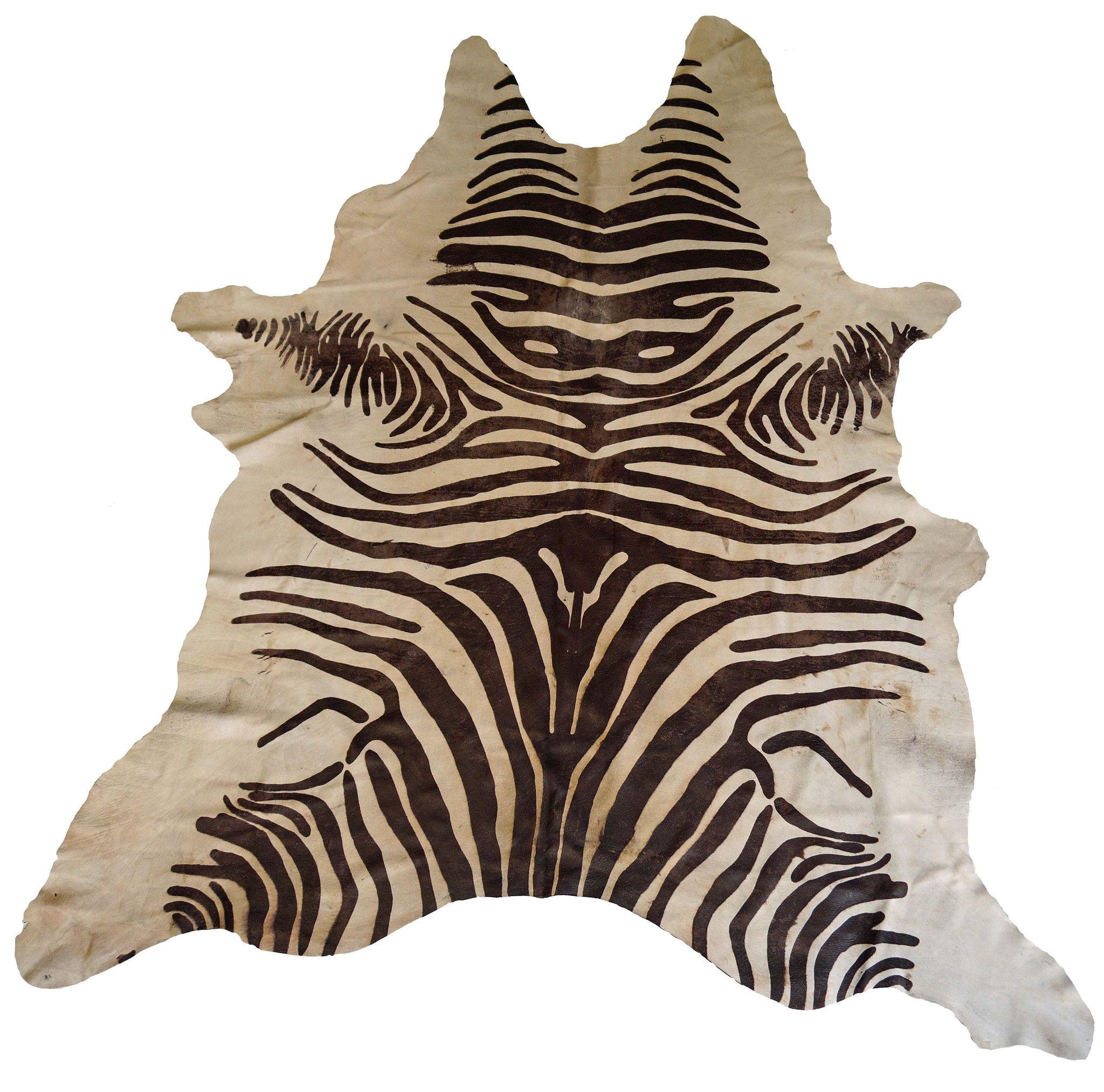 How To Clean A Real Zebra Rug Tan Acid Wash Zebra Cowhide Rug Design