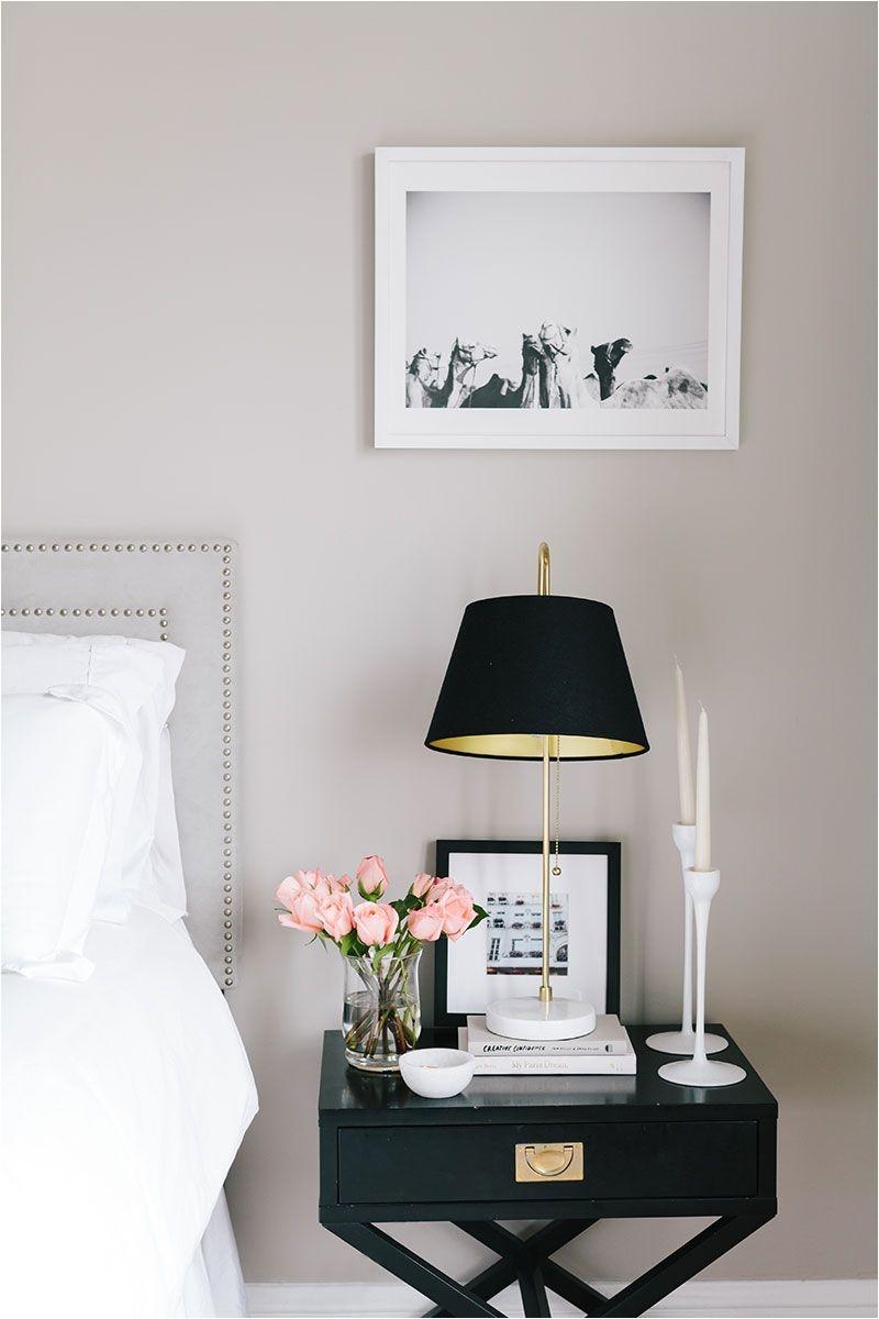 bedroom shelfie inspiration from ashley kane s san francisco apartment tour via the everygirl