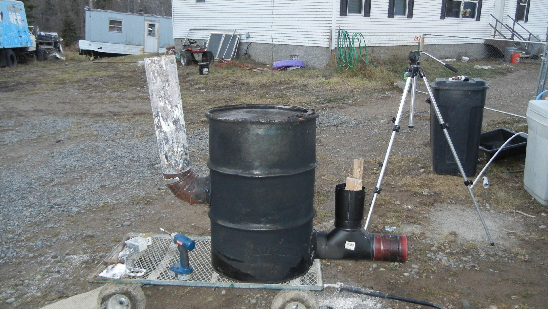 55 gallon drum fireplace