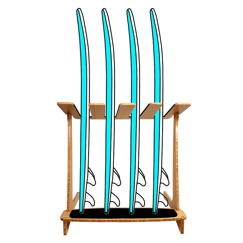 4 surfboard rack vertical surf rack