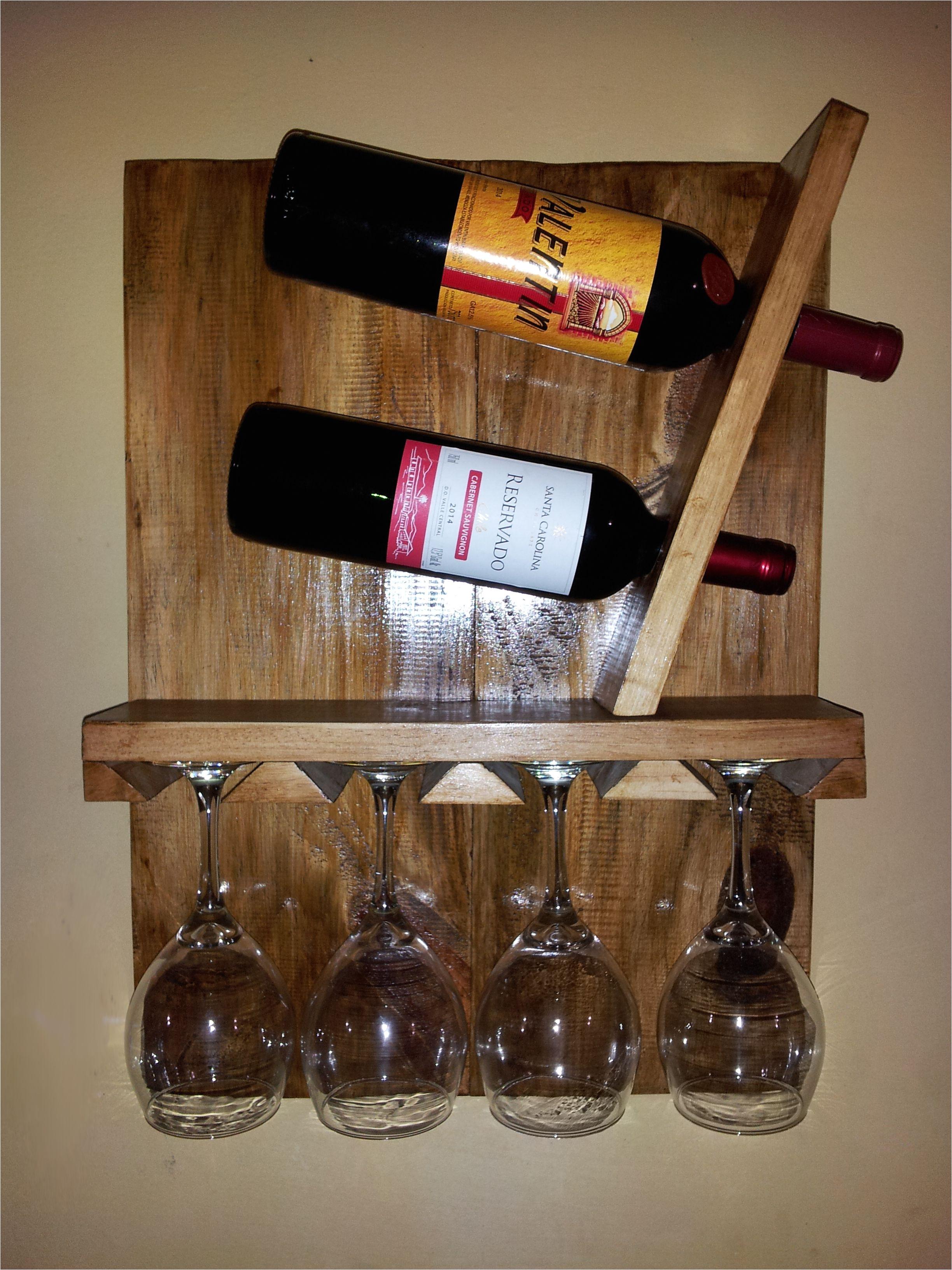 porta vinos con porta copas wine