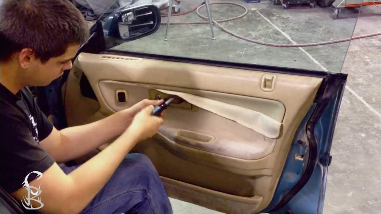 diy how to remove door trim panel acura integra