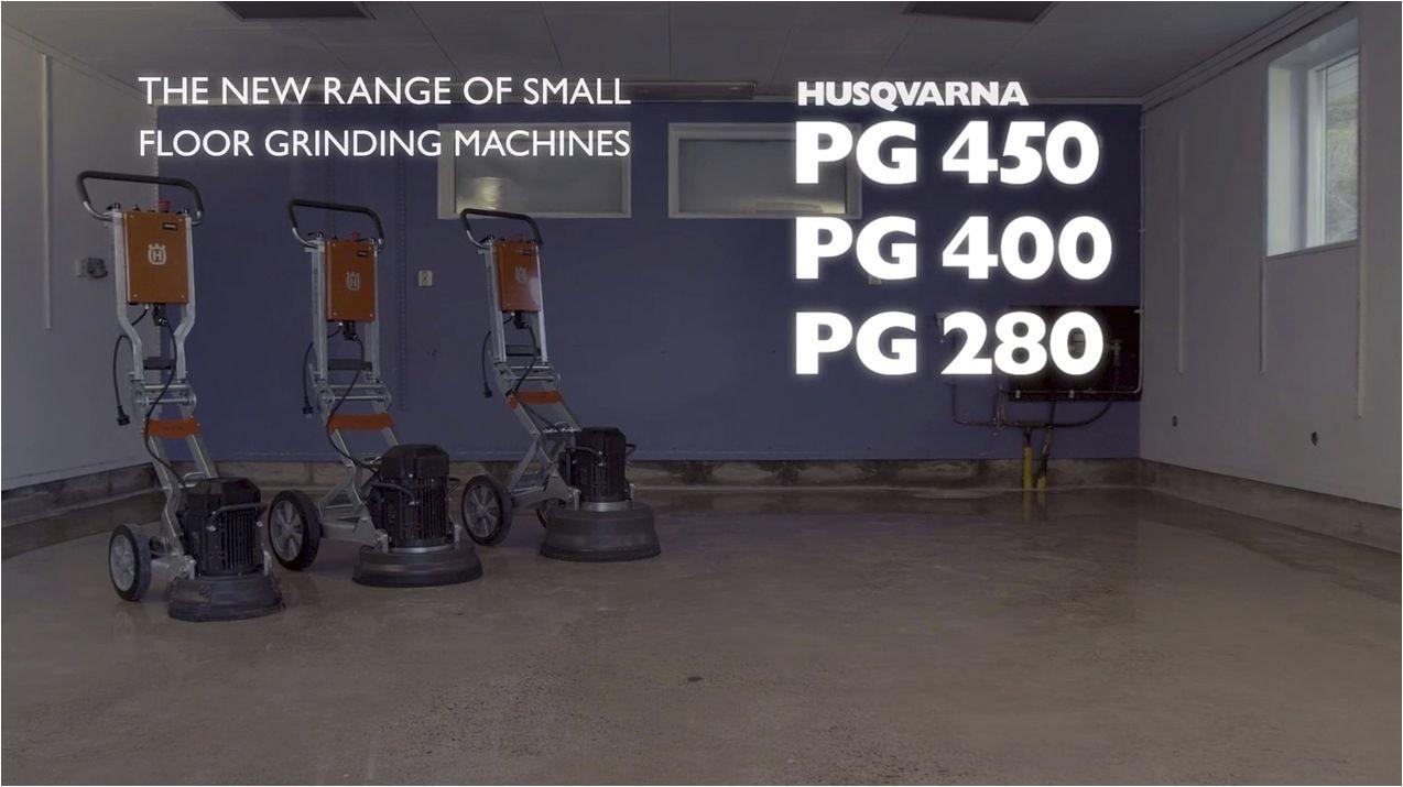 new range of floor grinders video pg 450