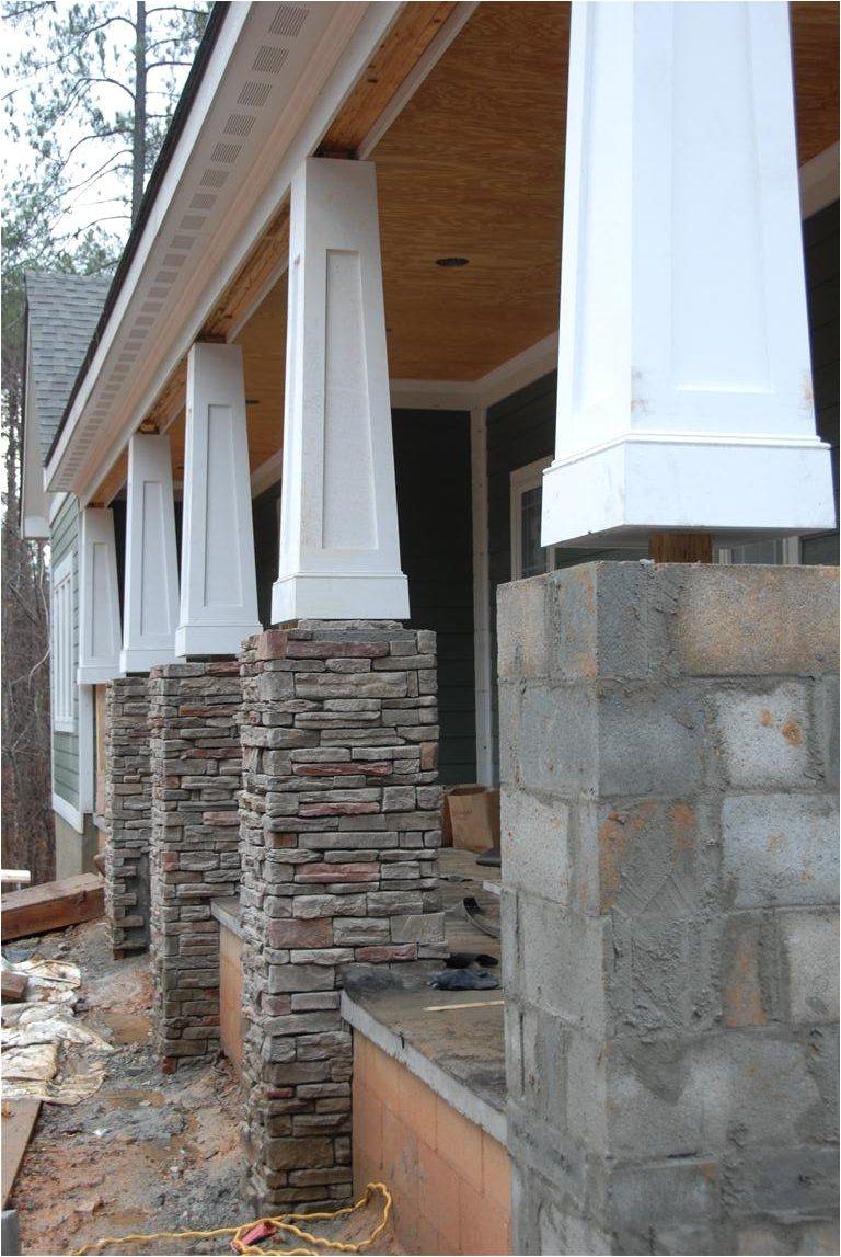 tapered columns centurion stone ledge pennsylvania