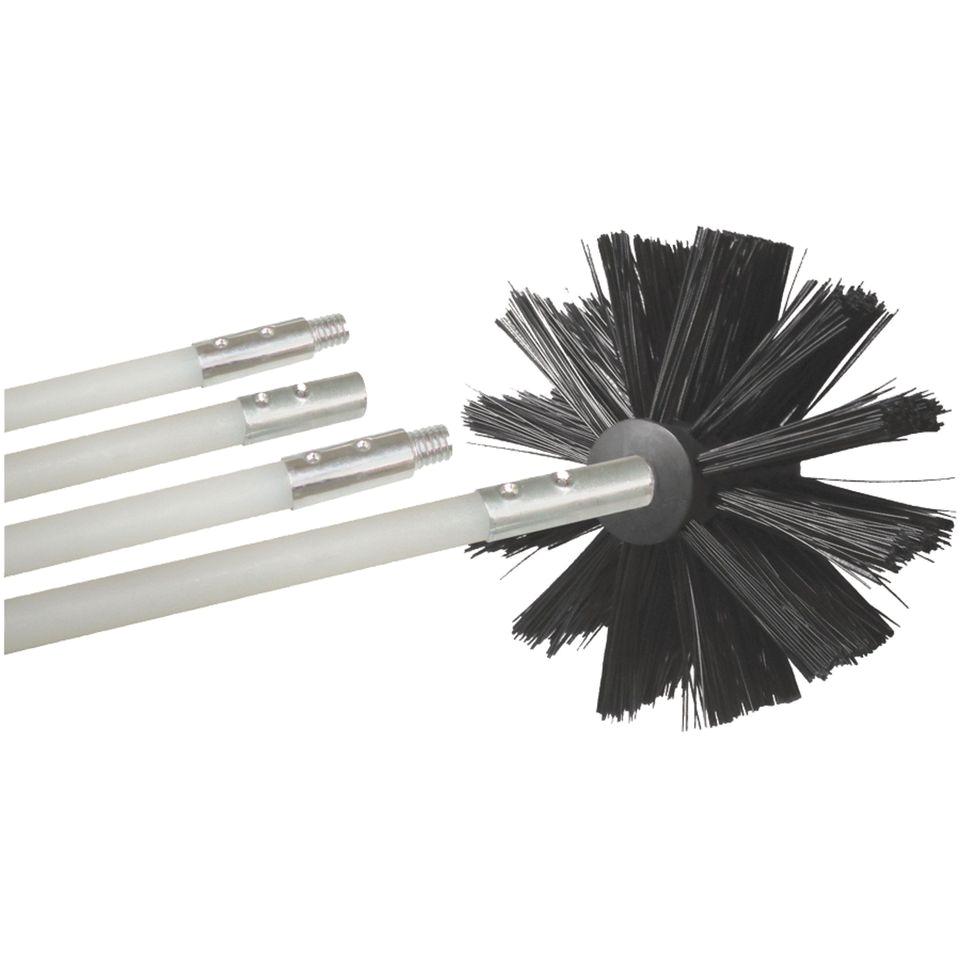 dryer vent cleaning brush kit
