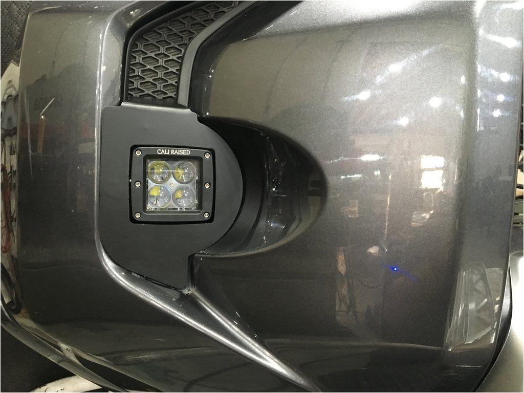 2014 2017 toyota 4runner fog light led pod replacement cali fogpod 14