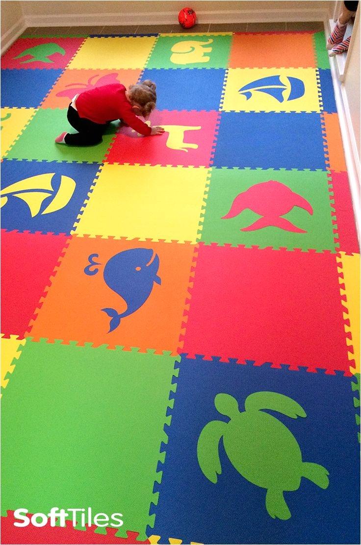 Interlocking Children S Floor Mats Mixed Animal Foam Mats Create Custom Play Mats for Kids D172