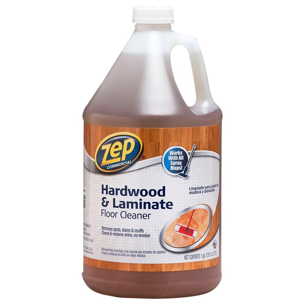 Is Zep Hardwood and Laminate Floor Cleaner Safe for Pets Zep 128 Oz Hardwood and Laminate Floor Cleaner Zuhlf128 the Home