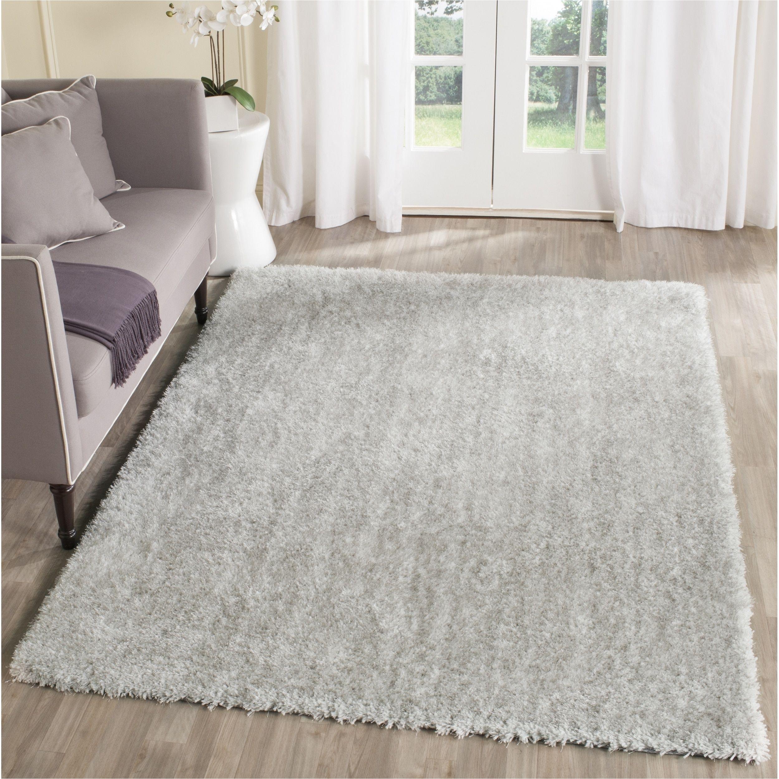 safavieh toronto handmade ivory light grey shag rug 4 x 6 sgtw711a 4 size 4 x 6 polyester geometric