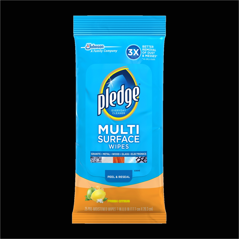 pledge multi surface everyday wipes