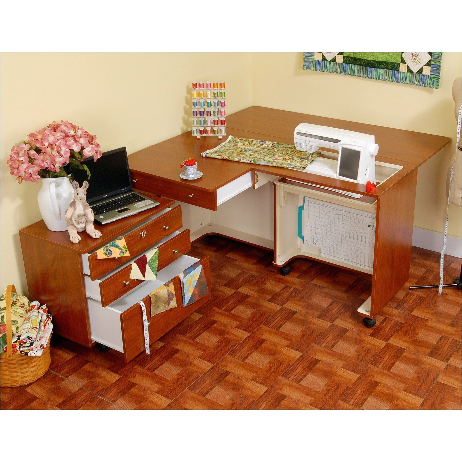 kangaroo kabinets kangaroo joey sewing cabinet with free chair