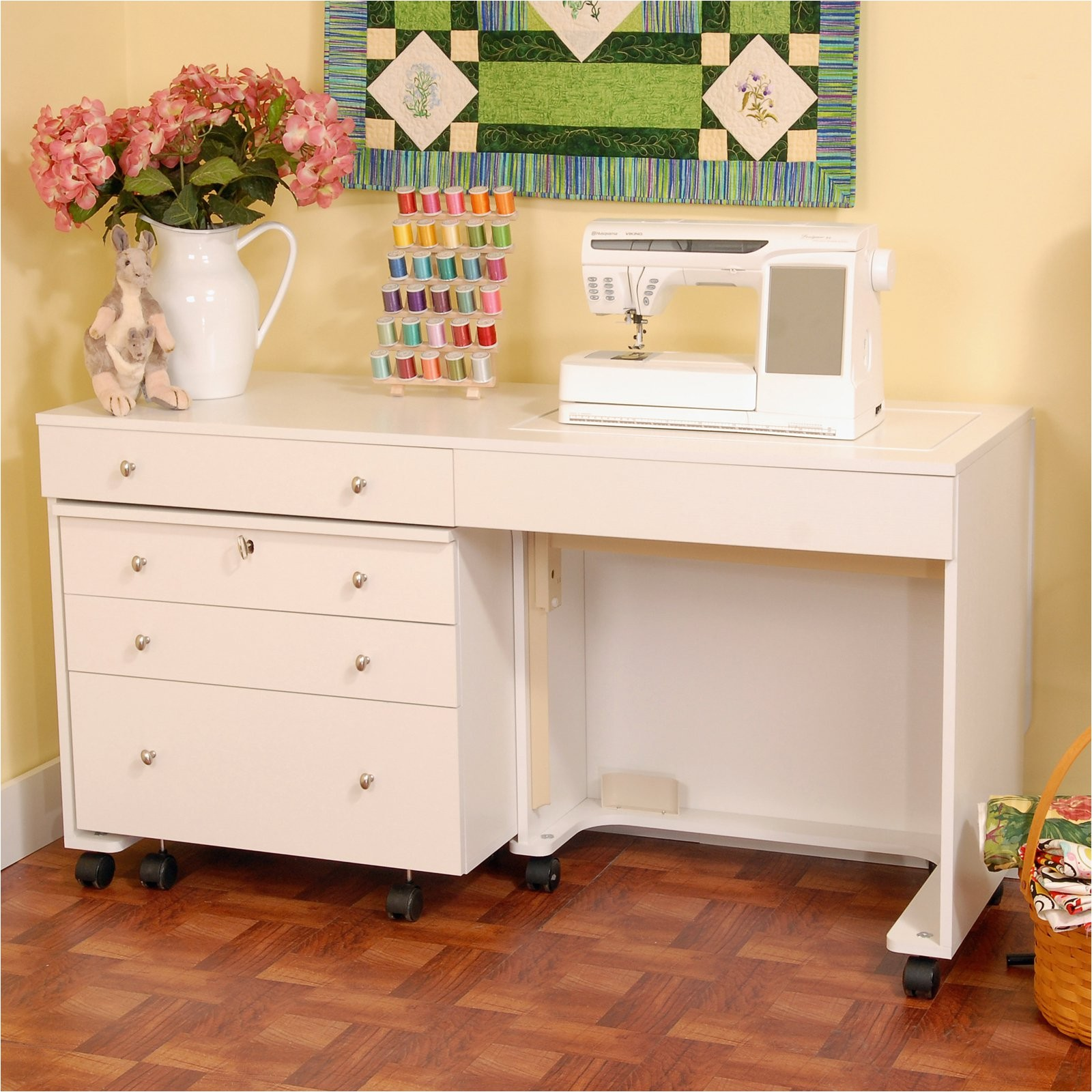 Kangaroo Sewing Cabinets Lovely Kangaroo Aussie Sewing Table by Arrow Hayneedle