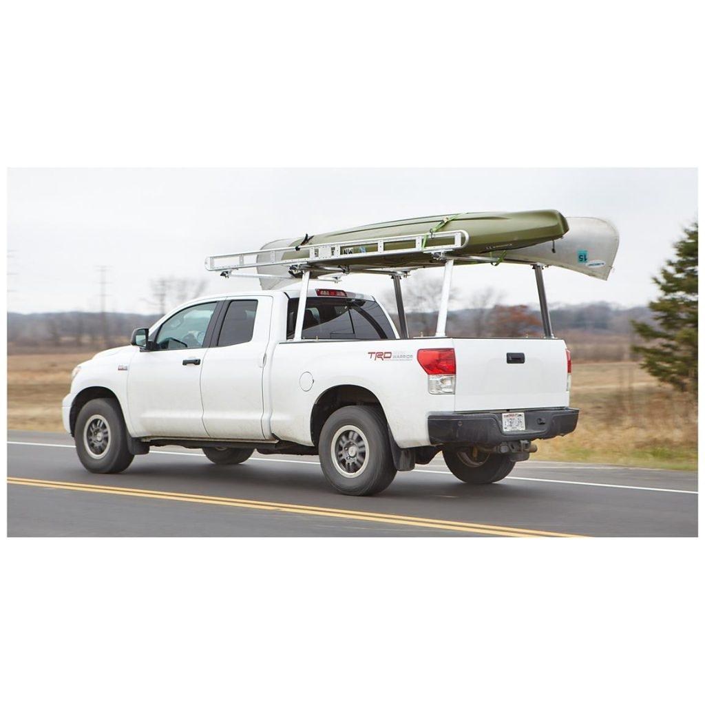 guide gear full size heavy duty universal aluminum truck rack pipe design for trucks 657783