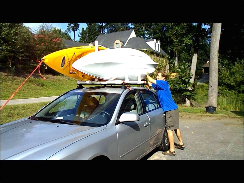 pvc dual kayak roof rack for 50